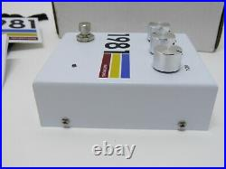 1981 Inventions DRV Overdrive Distortion Guitar Effects Pedal