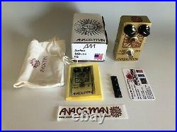 Analogman Sunface 2SB-175 Fuzz Guitar Effects Pedal with Sundial NEW