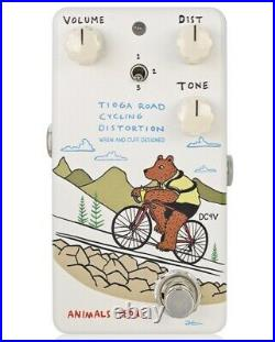 Animals Pedal Tioga Road Cycling Distortion NEW Guitar Effect Pedal
