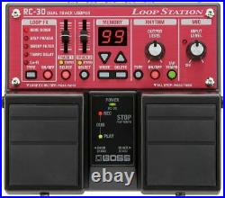 BOSS RC-30 Loop Station Guitar Effects Pedal