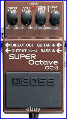 BOSS SUPER Octave OC-3 Guitar Effects Bass Pedal from Japan Free Shipping