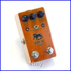 Black Cat guitar effects pedals OD-Boost boutique Fuzz Overdrive Booster, New
