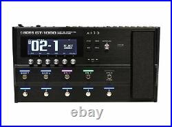 Boss GT-1000 Guitar Multi-effects EFFECTS DEMO PERFECT CIRCUIT