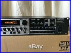 Boss GT-Pro 24-Bit Guitar Effects with COSM New Internal Battery! With box