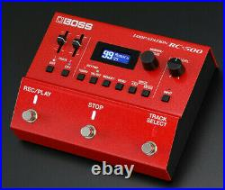 Boss RC-500 Loop Station New Dual Track Guitar Effects Looper Pedal