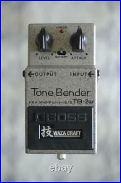 Boss TB-2W Waza Craft Tone Bender Fuzz Guitar Effects Pedal Limited Edition