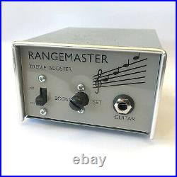 British Pedal Co Limited NOS Dallas Rangemaster Treble Booster Guitar Effects