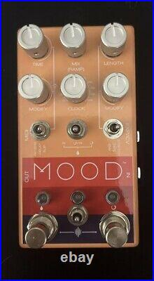 Chase Bliss Audio Mood Granular Effect Pedal Boxed For Guitar And Synth