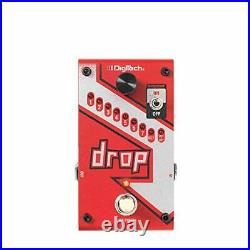 Digitech Drop Guitar Effects Pedal Polyphonic Tune Semitone Octave Tuner Switch