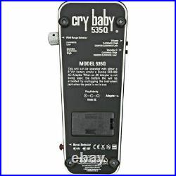 Dunlop 535Q Cry Baby Multi-Wah Guitar Effects Pedal