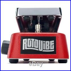 Dunlop JD4S Rotovibe Chorus/Vibrato Guitar Effects Expression Pedal