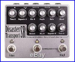 EarthQuaker Devices Disaster Transport SR Delay Reverb Guitar Effects Pedal