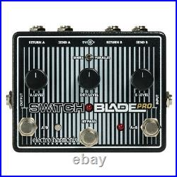 Electro Harmonix EHX Switchblade Pro Deluxe Switching Box Guitar Effects Pedal