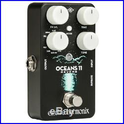 Electro-Harmonix Oceans 11 Multi-Effect Guitar Effects Pedal Shimmer + Reverse