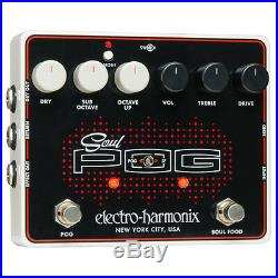 Electro Harmonix Soul POG, 2 in 1 Octave Drive Guitar Effect Pedal