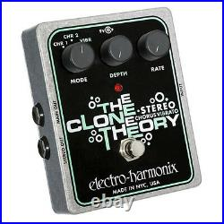 Electro Harmonix Stereo Clone Theory Guitar Effect Pedal