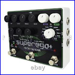 Electro-Harmonix Superego Plus + Synth Generator Guitar Effects Pedal Featur