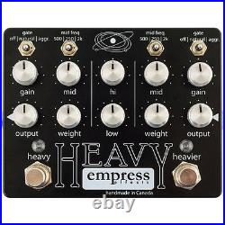 Empress Effects Heavy Distortion Dual Channel Guitar Effect Pedal