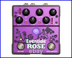 Eventide Rose Modulated Delay Guitar Effects Pedal NEW IN BOX