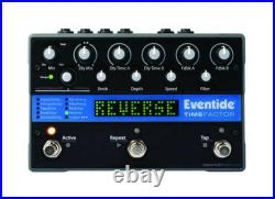 Eventide TimeFactor Twin Delay Guitar Effects Pedal NEW IN BOX