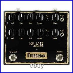 Friedman BE-OD Deluxe Overdrive Guitar Effects Pedal
