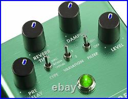 Genuine Fender Marine Layer REVERB Electric Guitar Effects Stomp-Box Pedal