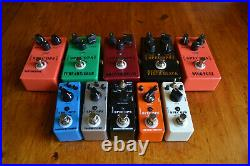Guitar Effects Pedal Lot of 10 by Spec Ops in Mint Condition
