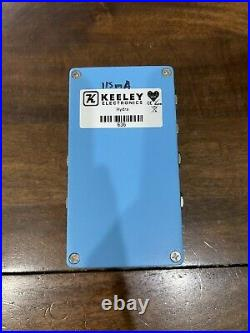 HYDRA Stereo Reverb & Tremelo By Keeley Electrics Guitar Bass Effect Pedal