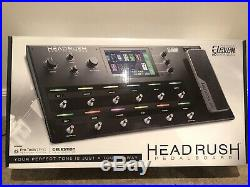 Headrush Pedalboard Guitar Amp Pod Modelling and Effects