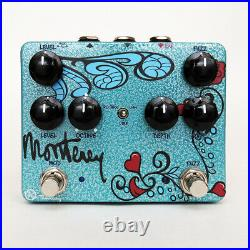 Keeley Monterey Rotary Fuzz Vibe Workstation Analog Guitar Multi Effects Pedal