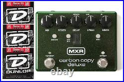 MXR Carbon Copy Deluxe Analog Delay Guitar Effects Pedal M292 (3 STRING SETS)