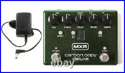 MXR Carbon Copy Deluxe Analog Delay Guitar Effects Pedal M292 (FREE ADAPTER)