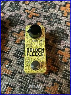 Mythos Golden Fleece Hand Wired Overdrive Fuzz Guitar Effects Pedal