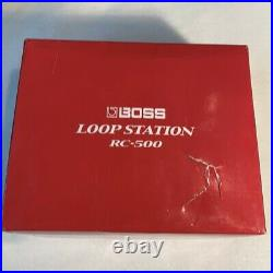 New Boss RC-500 Loop Station Guitar Effect Pedal