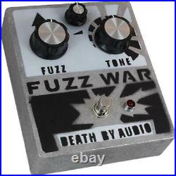 New Death By Audio Fuzz War Guitar Effects Pedal with Cables