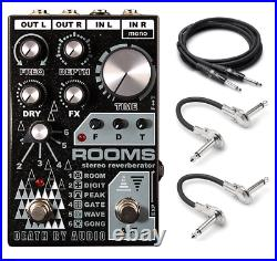 New Death by Audio Rooms Digital Stereo Multi Reverb Guitar Effects Pedal