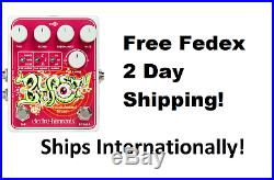New Electro-Harmonix EHX Blurst Modulated Filter Guitar Effects Pedal