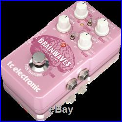 New TC Electronic Brainwaves Pitch Shifter Guitar Effects Pedal with Cables