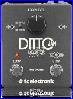 New TC Electronic Ditto Jam X2 Looper Guitar Loop Effects Pedal