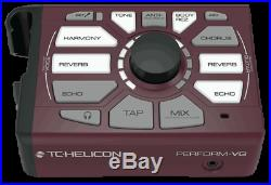 New TC-Helicon Perform VG Vocal Effects Acoustic Guitar Processor