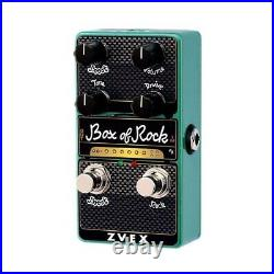 New Zvex Vexter Effects Vertical Box Of Rock Distortion Electric Guitar Pedal
