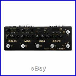 Nux Cerberus Integrated Analog Guitar Multi Effects Pedal Controller with MIDI
