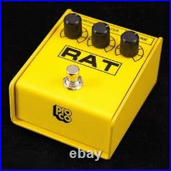 Pro-co RAT 2 YELLOW IKEBE ORIGINAL MODEL NEW Distortion Guitar Effects Pedal