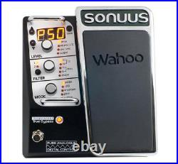Sonuus Wahoo Analog Multi Effects Pedal for Guitar and Bass 888680723118