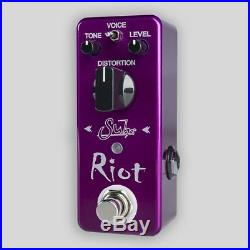 Suhr Riot Mini Distortion Guitar Effects Pedal