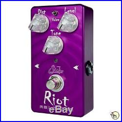 Suhr Riot Reloaded Distortion High Overdrive Guitar Effects Pedal True Bypass