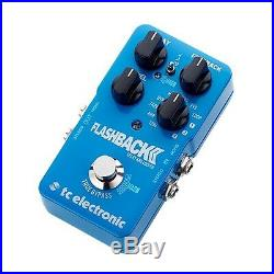 TC Electronic Flashback 2 Delay Looper True Bypass Guitar Effects Pedal Stompbox