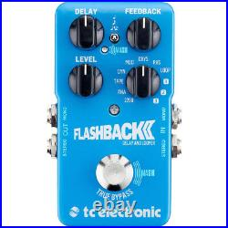 TC Electronic Flashback 2 Delay & Looper True Bypass Guitar FX Effects Pedal New