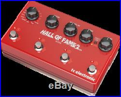 TC Electronic Hall of Fame 2 X4 Multi Reverb Guitar Effects Pedal