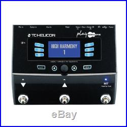 TC-Helicon Play Acoustic Guitar & Vocal Digital Multi-effect Pedal New